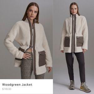 Varley Woodgreen Sherpa Jacket sz M Eggnog